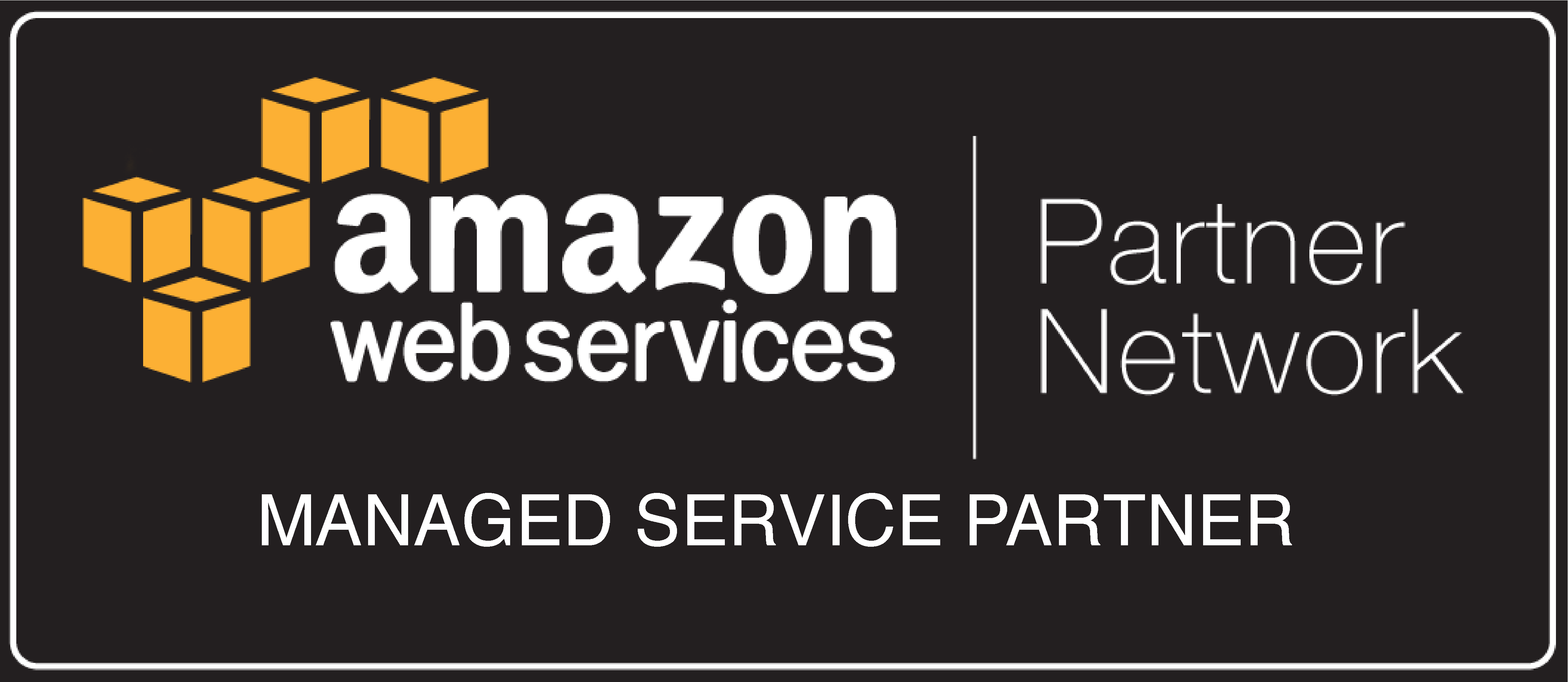 AWS Logo - Managed Services Partner